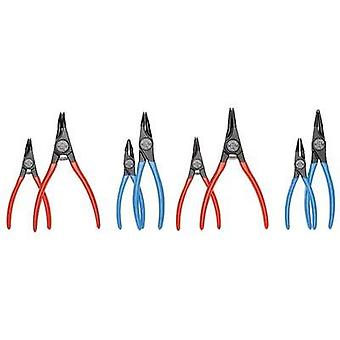 Circlip pliers set Suitable for Outer and inner rings 12-25 mm, 19-60 mm 10-25 mm, 19-60 mm Tip shape Straight, 45° angl