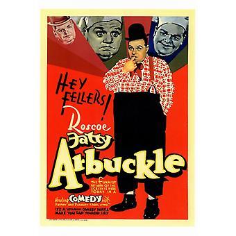 Fatty Arbuckle film affisch Skriv (27 x 40)