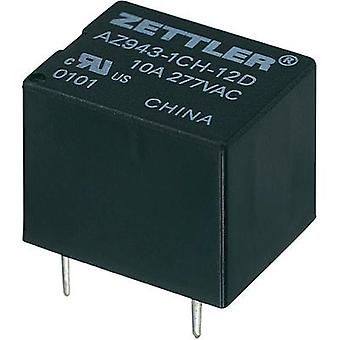 Zettler Electronics AZ943-1CH-9DE Miniature PCB Mount Relay 9Vdc 1 CO, SPDT