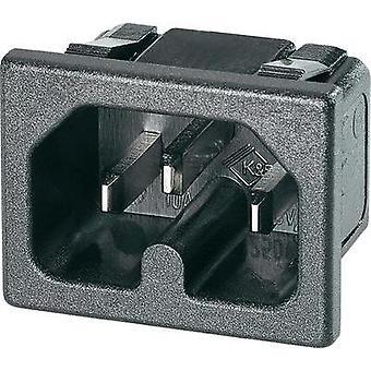 Hot wire connector C16 Series (mains connectors) 42R Plug, vertical mount