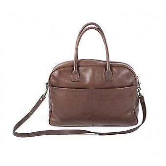 Claudia Firenze business bag brown