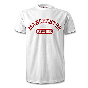 Manchester United 1878 Established Football Kids T-Shirt