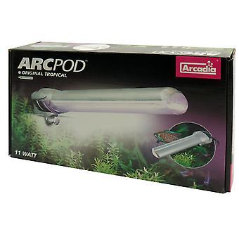 ARC Pod lille akvarium lys med kompakt lygte 11w