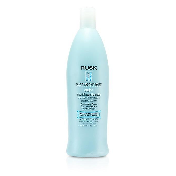 Rusk Sensories Calm Guarana and Ginger Nourishing Shampoo 1000ml/33.8oz