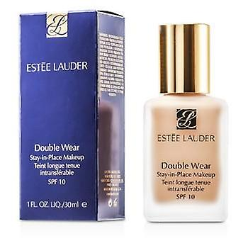 Estee Lauder Double Wear vistelse i plats Makeup SPF 10 - nr 02 blek mandel (2 c 2) - 30 ml/1 oz