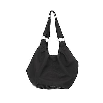 Obaby Black Pompom Changing Bag