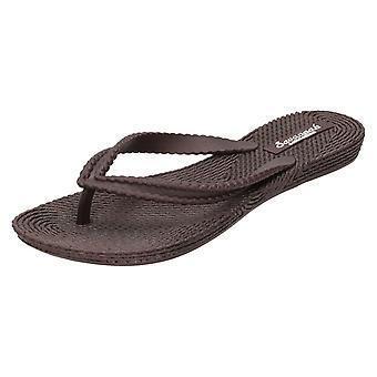 Ladies Savannah Flat Braided Toepost Sandal