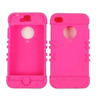 Ubegrænset cellulære Rocker serie hud Case for Apple iPhone 4/4S (fluorescerende Ma