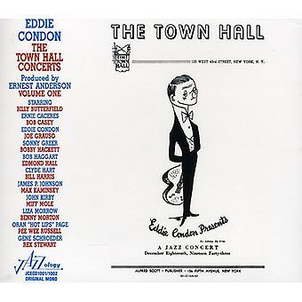 Eddie Condon - Eddie Condon: Vol. 1-Town Hall koncerter [CD] USA import