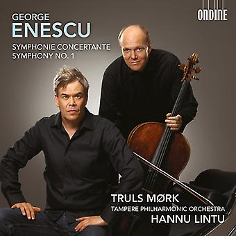 Enescu / Mork / omairs / Tampere Po - Symphonie Concertante & Sym 1 [CD] USA import