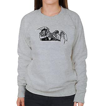 Gysen mig fangarme Davey Jones Cthulhu kvinders Sweatshirt