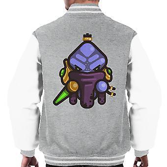Enklere Zeratul Starcraft menn Varsity jakke