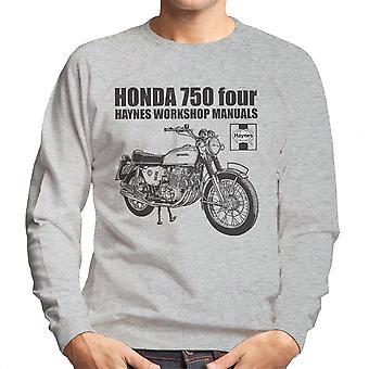 Moletom do Haynes proprietários Workshop Manual Honda 750 quatro homens
