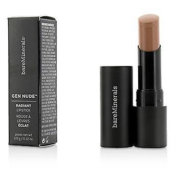 Bareminerals Gen Nude Radiant Lipstick - Honeybun - 3.5g/0.12oz