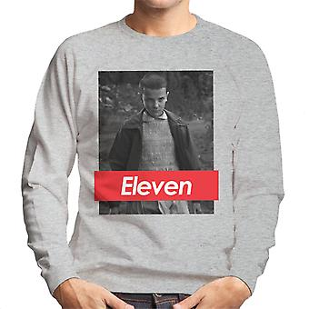 Stranger Things Eleven Supreme Logo Men's Sweatshirt