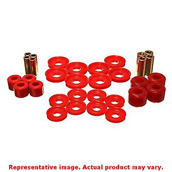 Energy Suspension Control Arm Bushing Set 5.3142R Red Front Fits:DODGE 2006 - 2