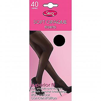 Silky Girls Opaque 40 Denier Tights (1 Pair)