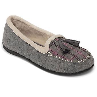 Padders Tassel Womens Loafer Style Slippers
