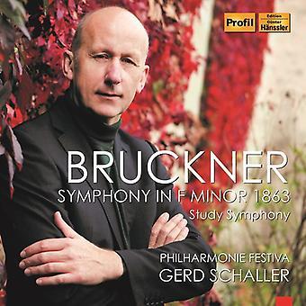 Bruckner / Schaller - Symphony in F Minor [CD] USA import