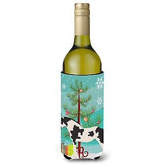 Cyldesdale Pferd Weihnachten Weinflasche Beverge Isolator Hugger
