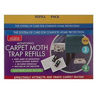 Acana Carpet Moth Trap Refill Pack of 2 from Caraselle