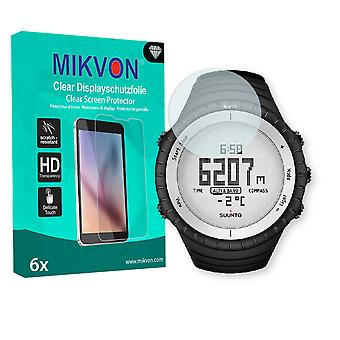 Suunto Core Glacier Screen Protector - Mikvon Clear (Retail Package with accessories)