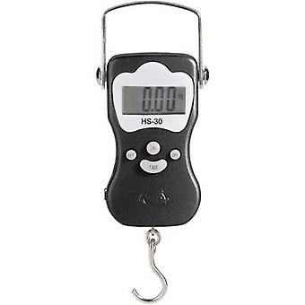 Hanging scales VOLTCRAFT HS-30 Weight range 30 kg Readability 20