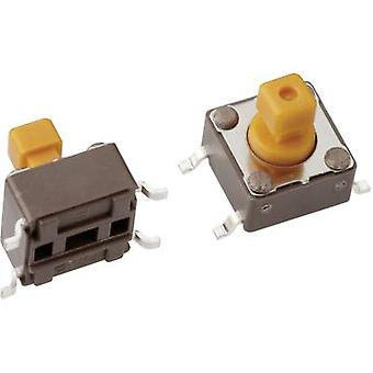 Pushbutton 12 Vdc 0.05 A 1 x Off/(On) Mentor 1254.