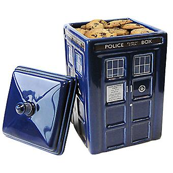 Doctor Who Tardis keramik Cookie Jar