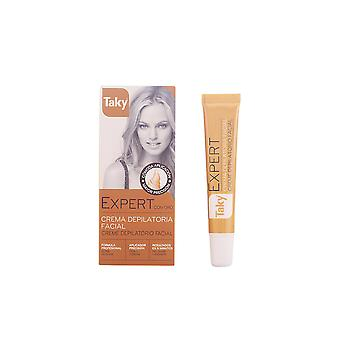 Taky Expert Con Oro Crema Depilatoria Facial 20ml Mens New Sealed Boxed
