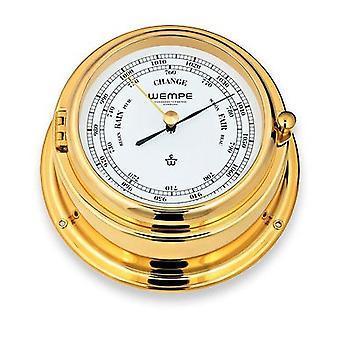 Wempe chronometer Stahlwerke Bremen II barometer CW310008