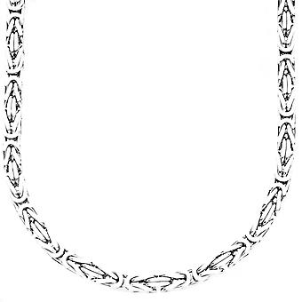 Sterling 925 Silver King chain - DOTTE 4x4mm