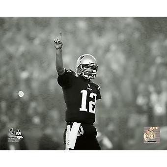 Tom Brady 2017 Action Photo Print