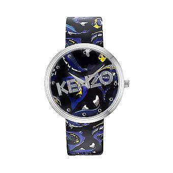 Kenzo KZ9600503 Iconic Black Print Strap Ladies Watch
