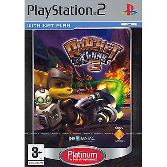 Ratchet Clank 3 Platinum (PS2)