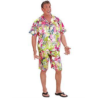 Hawaiian mand kostume