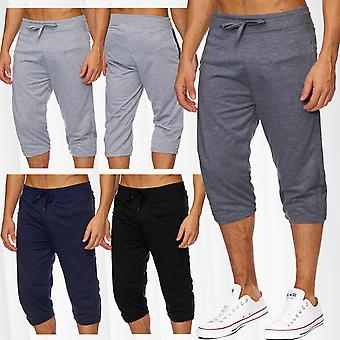 Men's sweat pants jogging sport jogging pants cotton summer basketball zip new