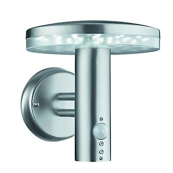 Brooklyn Led Outdoor Wall Bracket, Stainless Steel