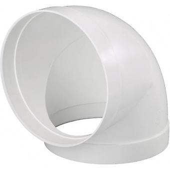 Cilindro tubo de ventilación sistema de 150 90 grados conducto acodado Wallair 20210165