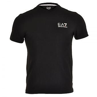 EA7 Emporio Armani Train Core ID Logo Crew Neck T-Shirt, Black, X-Large