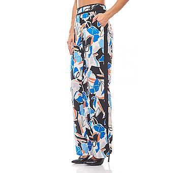 Print pants women's summer trouser B.C.. best connections stained