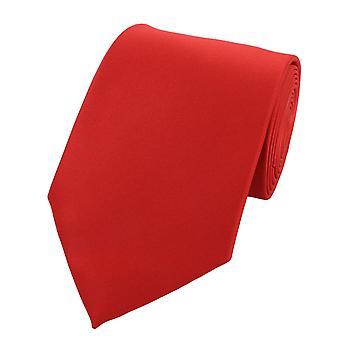 Tie binde bånd knyttes bredt 8cm rød-oransje svart/hvitt Fabio Farini