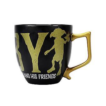 Harry Potter XL Coppa Dobby nero, stampato, in ceramica, capienza circa 425 ml...