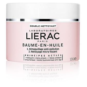 Lierac Makeup Removing Oil Balm 120 gr (Cosmetics , Face , Facial cleansers)