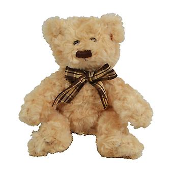 16cm Scruffy Bear Plush (Brown)