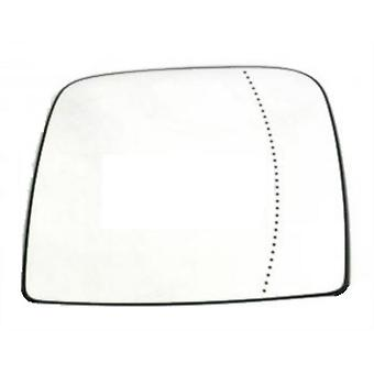 Droit Driver Side Mirror Glass (Heated) pour Opel VIVARO Van 2014-2018