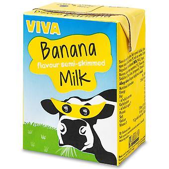 Viva-Bananen-Milchshake-Kartons