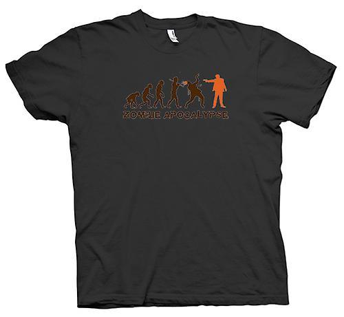 Womens T-shirt - Zombie apokalyps - Funny