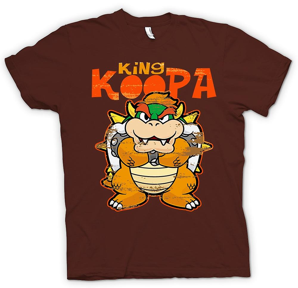 Mens t-shirt - Re Koopa - Super Mario