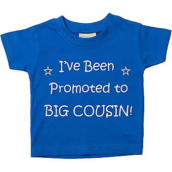 I've Been Promoted to Big Cousin Blue Tshirt